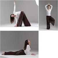 Упражнения из йоги для похудения